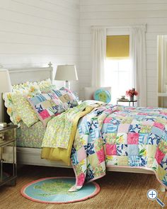 Lilly Pulitzer bedding for Garnet Hill