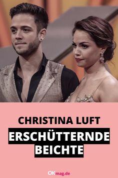 """Profi-Tänzerin Christina Luft ist ein echter Sonnenschein und bei den Zuschauern von """"Let's Dance"""" super beliebt. Nun offenbarte sie erschütternde Details aus ihrer Vergangenheit … #christinaluft #letsdance #tanzen #okmag"""