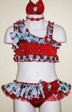 Swimwear 005-Jordan Grace Princesswear custom pageant swimwear