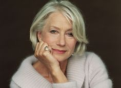 The Best Life Advice From Hollywood's Leading Ladies via Helen Mirren. Dame Helen, Haircut For Older Women, Short Bob Haircuts, Ageless Beauty, Aging Gracefully, Classic Beauty, Soft Classic, Beauty Style, Famous Faces