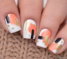50 The Most Trendy & Creative Nails Art You've Ever Seen 2017 - Reny styles