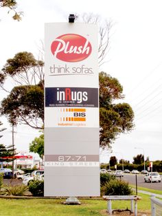 FlexiSign Pylon 1200 is our unique modular signage system and is one of our largest sizes suited to building entrances or streetscapes, discernible from a 20-metre distance. Developed for use in public spaces, such as outdoor campuses and precincts, parks and waterfronts, schools, universities, sports and camping grounds, bush walking sites, as well as indoor settings.  The signage is a vailable in eight unique profiles and has the capability to incorporate feature LED illumination. Facility Management, Wayfinding Signage, Public Spaces, Schools, Distance, Parks, Entrance, Walking, Indoor