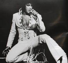 Elvis Presley live in Las Vegas, the summer of 1970
