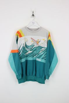 "Very good condition, vintage Adidas Devils Toenail sweatshirt. Measurements: Pit to pit - 29"" Length on back - 29"" Vintage items will usually show a few signs o"