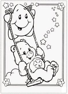 Desenhos dos ursinhos carinhosos para colorir, pintar, imprimir! - Espaço Educar desenhos para colorir