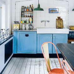 Vintage Inspired Kitchen.