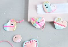 Valentine's Day Cute Handmade Hearts