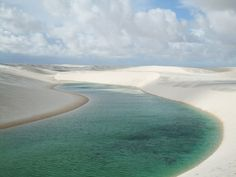 Sand dunes and lagoons of Lencois Maranhenses National Park, Brazil | The Virtual Traveller | How to travel the world without leaving home | #virtualworldtrip