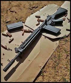 Guns, dogs, muscle cars, advice, and my life. Military Weapons, Weapons Guns, Airsoft Guns, Guns And Ammo, Arsenal, Fal Rifle, Bushcraft, Battle Rifle, Long Rifle