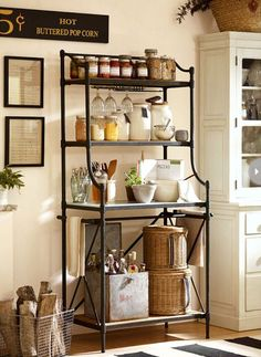 Ways to decorate a bakers rack | hamilton baker s rack inspired by a vintage baker s rack this rack ...