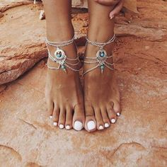 Etsy Bohemian Forever21 Beads Decorated Multilayer Design anklet