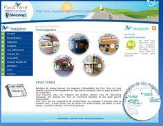 Finisterra : réseau de magasins biologiques Biocoop dans le Finisterre