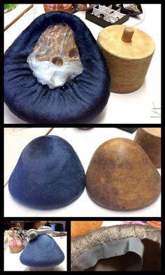 Melusine cap, the making of