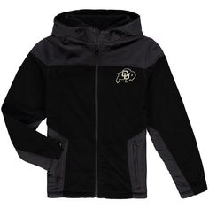 Colorado Buffaloes Colosseum Youth Corded Full-Zip Hooded Jacket - Black - $54.99