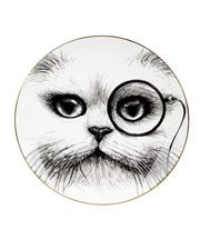 Monocle Cheshire Cat Perfect Plate, Rory Dobner.