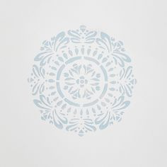 DIY Mandala Stencil, Set of 3 - Decor - Wallpaper + Decals Decorative Objects, Decorative Accessories, Wall Stickers, Wall Decals, Wall Art, Watercolor Clouds, Mandala Stencils, Home Remodeling Diy, Pottery Barn Teen