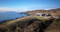 The Tigh Port na Long house on the Isle of Skye in Scotland - A project completed by Dualchas Architects. The team of Dualchas Architects has completed Example Of News, Architects Journal, Long House, Rural House, Waterfront Property, Architect Design, Modern Architecture, Residential Architecture, Landscape Design