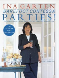 Barefoot Contessa Parties! Ideas and Recipes for Easy Parties That Are Really Fun by Ina Garten http://www.amazon.com/dp/0609606441/ref=cm_sw_r_pi_dp_K8yLub1C0YDQJ