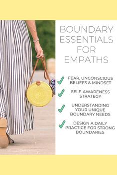 Empaths are you feeling overwhelmed, exhausted, scared, and tired of taking on everyone else's energy and pain? Learn boundaries that will give you the freedom you're searching for