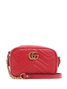 GG Marmont mini quilted-leather cross-body bag | Gucci | MATCHESFASHION.COM UK