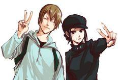 Erica & Walker Izaya Orihara, Shizaya, Durarara, Manga Anime, Anime Art, Me Me Me Anime, Anime Guys, Ouran Highschool, Bad Romance