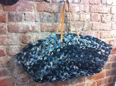 a bag made of Levis or a piece of art?