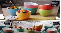 Jardin Porcelain Bowls Set of 6 – Gourmet Basics by Mikasa. #Costco #FrugalHotspot
