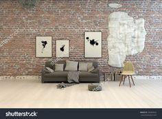 parquet bricks wall - Google Search