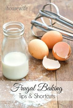 Frugal Baking Tips & Shortcuts - just in time for Christmas baking! | The Happy Housewife