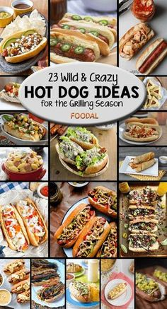 Take your hot dogs from plain to insane with Foodal's round-up of wild and crazy hot dog ideas. From regional specialties to new takes on old standbys, this collection of recipe ideas from our favorite bloggers is not to be missed! http://foodal.com/recipes/barbeque/crazy-hot-dogs/