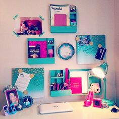 Teen Girl Bedrooms dreamy idea - A splendid yet powerful array of decor tips and tricks. Filed at diy teen girl room desks , nicely shared on this day 20190217 Diy Room Decor For Teens, Teen Room Decor, Bedroom Decor, Bedroom Ideas, Desk For Girls Room, Girl Room, Tips And Tricks, Mermaid Room, Dorm Room Organization
