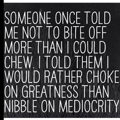 WEBSTA @ marvetbritto - #BedtimeGems: Never apologize for maintaining an appetite for great over average. Remember some people will always prefer to eat the crumbs....versus continuing to search for the whole loaf! Sweet dreams #Factolife #wisdom #digdeep #choosehappy #great #Instaword #brittogems