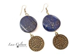 Lapislazuli meets Arabic Mediterranean Earrings by LuceCultura, €18.00