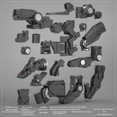 Black Phoenix: Heavy Joints and Actuators Pack. 50% OFF! — Vitaly Bulgarov