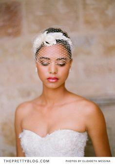 Dramatic Bridal Makeup African American 57 New Ideas Tiara Hairstyles, Wedding Hairstyles, Wedding Veils, Wedding Day, Trendy Wedding, Dramatic Bridal Makeup, Elegant Makeup, African American Brides, Short Veil