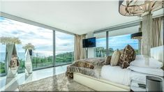 modern lakás, hálószoba - Luxuslakások, házak