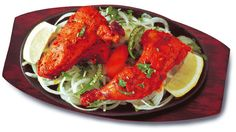 Tandoori Chicken Legs Recipe - Pakistani Kabab/Grill and Appetizer Dish - Fauzia's Pakistani Recipes - The Extraordinary Taste of Pakistan