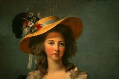 Elisabeth Vigee-Lebrun, recognized as the most famous woman painter of the 18th century