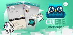Cubie Messenger แอพแชทพร้อมสติ๊กเกอร์ดุ๊กดิ๊กสุดน่ารัก อัพเดทใหม่บน iOS