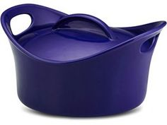 Stoneware Casserround (2.75-qt.): Blue by Rachael Ray at Food Network Store