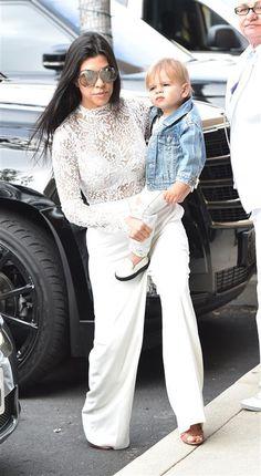 Kourtney Kardashian took son Reign Disick to Easter Sunday church services on March 2016 Kardashian Jenner, Kourtney Kardashian, Reign Disick, Celeb Style, My Style, Wonderwall, Celebs, Celebrities, Taylor Swift