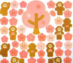 Beautiful Japanese Stickers Sakura Cherry by FromJapanWithLove, $5.50