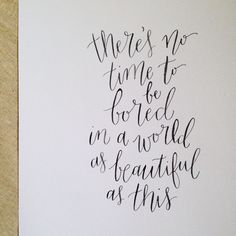 1000 Images About Modern Calligraphy On Pinterest