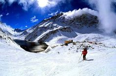 snowboard chile and the andes