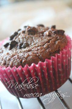 Mat for sjelen...: Makeløse Mocca Muffins... Lchf, Sugar Cookies, Pesto, Sugar Free, Healthy Recipes, Healthy Food, Gluten Free, Baking, Breakfast