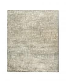 Rug Star: Walking Fields. Net No. 01 Grey. 85% Tibetan highland wool 15% Chinese silk. 250 cm x 300 cm