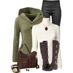 """Cabela' s sweater"" by mommygerloff on Polyvore"