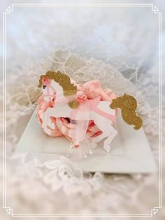 Carousel Horse Tag - Carousel Horse Decorations - Carousel Horse Party Decor - Carousel Horse Birthday Party - Carousel Horse Baby Shower