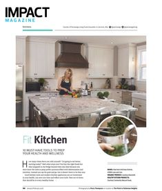 Do you need a little extra push with your healthy new years' resolutions? Prep your health and wellness with these 10 must-have kitchen tools. Because sometimes surrounding yourself with things to remind you of your goals and motivate you to live healthier is needed. Check out my full article in the January-February 2018 issue of @impactmagcanada featuring @with.loveandcare.💚⚡️🌱 🥒🍅🍋🥑🍓🍍🥕🍠 🥑 #kitchenmusthaves #kitchentools #kitchengoals #happyhome
