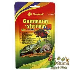 Aproveitem!  RAÇÃO PARA PEIXE GAMMARUS & SHRIMP 20G TROPICAL por R$13,02*  Gammarus & Shrimps Mix é uma dieta natural para os répteis e peixes de grande porte. Obtido pela combinação de gammarus e camarão, enriquecido com um conjunto de vitaminas valiosas.   http://www.petstima.com.br/product_info.php?products_id=19039  Visitem: www.petstima.com.br  * Valor referente para pagamento via Transferência ou Depósito.